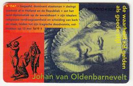 Nederland F 25,00 KPN Telecom, Johan Van Oldenbarnevelt, VOC - Pays-Bas