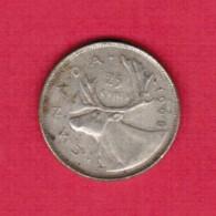 CANADA   25 CENTS 1968 SILVER (KM # 62a) C-234 - Canada