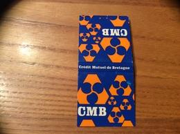 Pochette D'allumettes * SEITA «CMB - Crédit Mutuel De Bretagne» (banque) - Boites D'allumettes