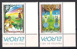 Macédoine Macedonia 1997 Yvertn° 102-103 *** MNH Cote 7,50 Euro Europa Contes Et Légendes - Macédoine