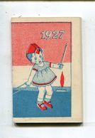 Calendrier 1927 - Calendars