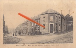MONTEGNEE - Coin Des Rues Adolphe Renson Et Hector Denis - Saint-Nicolas