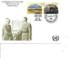 Guerre 40/45 - L'avance Des Alliés En Afrique  ( CM De Guinée De 2001 à Voir) - WW2