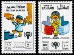 Bahrain, 1979, International Year Of The Child, MNH Perforated Set, Michel 282-283 - Bahreïn (1965-...)