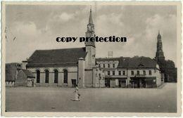 Crone An Der Brahe, Krone, Koronowo, Marktplatz Mit Evangelischer Kirche, Alte Ansichtskarte 1942 - Polen