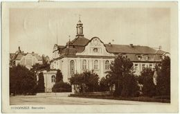Bydgoszcz, Starostwo, Alte Ansichtskarte 1929 - Pologne