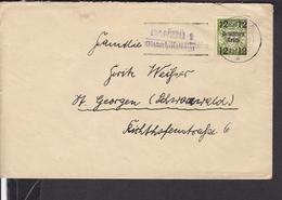 """Brief Deutsches Reich  Nr.721 EF Landpoststempel """" Danzig 1 - Stolzenberg """" Selten ? - Allemagne"""