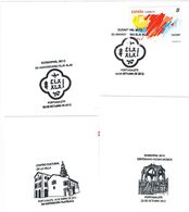 Spanien 3 Sonderstempel Portugalete (Baskenland) - Euskophil, Kulturzentrum, Musikpavillion - 1931-Heute: 2. Rep. - ... Juan Carlos I