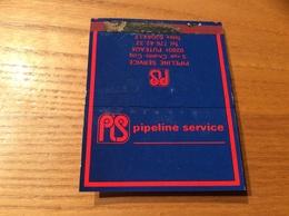 Pochette D'allumettes SEITA «pipeline Service» (société) - Boites D'allumettes