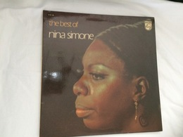 Disque 33 Tours Nina Simone - The Best Of - 9100 500 - Philips - 1972 - Compilations
