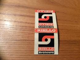 Pochette D'allumettes SEITA «RIELLO Brûleurs - VILLEJUIF (94) » (société) - Boites D'allumettes