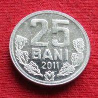 Moldova 25 Bani 2011 KM# 3 Moldavia - Moldova