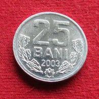 Moldova 25 Bani 2003 KM# 3 Moldavia - Moldova