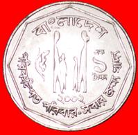 √ FAO: BANGLADESH ★ 1 TAKA 2002 MINT LUSTER! LOW START ★  NO RESERVE! - Bangladesh