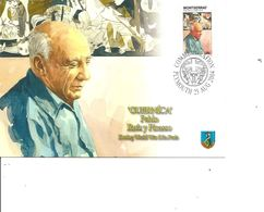 Picasso ( Carte Commémorative De Montserrat De 2004 à Voir) - Picasso