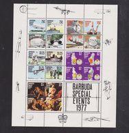 Bloc Feuillet /Barbuda/ évènements De L'année 1977 - Antigua And Barbuda (1981-...)
