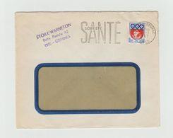 LSC 1967 - Flamme SANTE SOBRIETE + Cachet LILLE ?? BOURSE (Nord) - Marcophilie (Lettres)