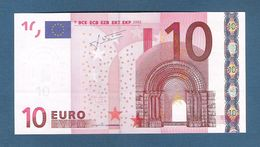 GERMANIA - 2002 - BANCONOTA DA 10 EURO SERIE X (R023B6) TRICHET - NON CIRCOLATA (FDS-UNC) - IN OTTIME CONDIZIONI. - EURO