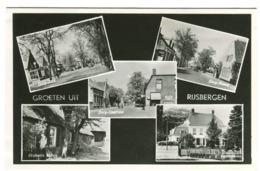 Groet Uit RIJSBERGEN  Real Photo Multiview C. 1955 - Nederland