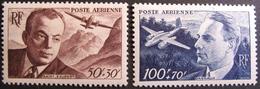 Lot FD/1315 - 1947 - POSTE AERIENNE - SAINT-EXUPERY / DAGNAUX - N°21 à 22 NEUFS* - Poste Aérienne