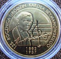 Polónia - 2 Zlotes - 2007 - Y 612 - Karol Szymanowski - Polonia