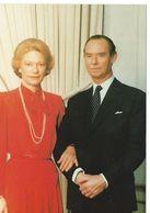 Luxembourg Grand Duché Leurs Altesses Royales Jean Et Joséphine-Charlotte  Cpsm 15x10,5 TTBE - Famille Grand-Ducale