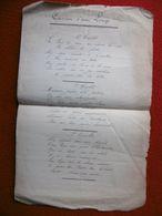 CANSOU D AOU LOUP MANUSCRIT OCCITAN FELIBRIGE - Manuscrits