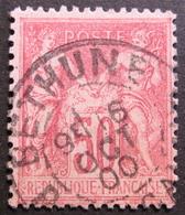 Lot R1576/112 - SAGE Type II N°104 - BEAU CàD : BETHUNE (Pas De Calais) 16 OCTOBRE 1900 - Cote : 45,00 € - 1876-1898 Sage (Type II)
