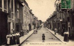 RICHELIEU  - La Rue De La Galère - France