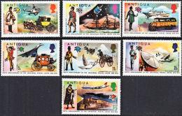 A0249 ANTIGUA 1974, SG 386-92  Centenary Of Universal Postal Union (UPU),  MNH - Antigua And Barbuda (1981-...)