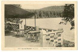 Lac Du Bouchet - La Terrasse Du Chalet Hôtel Et Le Lac - Hte-Loire - France