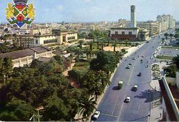Casablanca - Armoiries De La Ville At Place Des Nation Unies - Formato Grande Viaggiata – E 3 - Cartoline