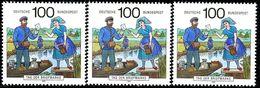 A12-16-7) BRD - 32x Michel 1570 - ** Postfrisch (A) - 100Pf      Tag Der Briefmarke 91 - [7] République Fédérale