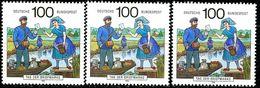 A12-16-7) BRD - 32x Michel 1570 - ** Postfrisch (B) - 100Pf      Tag Der Briefmarke 91 - [7] République Fédérale