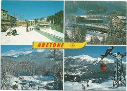 V2453 Abetone Cutigliano (Pistoia) - Panorama Vedute Multipla / Viaggiata 1986 - Altre Città