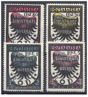 ITALY EGEO 1944 PRO SINISTRATI 4 - Ägäis (Rodi)