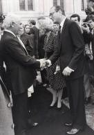 Paris President Algerien Chadli Bendjedid Et Jacques Chirac Ancienne Photo De Presse 1983 - Famous People