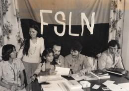 Nicaragua Revolution Delegation Du Front Sandiniste FSLN Contre Somoza Ancienne Photo De Presse 1979 - Photographs
