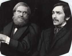 Acteurs Claude Brosset Christian Baltauss La Vie De Raspail Ancienne Photo De Presse 1981 - Famous People
