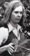Portrait De Anne Randolph Hearst Ancienne Photo De Presse 1974 - Famous People