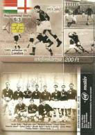 GOLDEN TEAM * FOOTBALL SOCCER * SPORT * PUSKAS FERENC * ENGLAND ENGLISH LONDON WEMBLEY * PHONECARD * MML 0018 * Hungary - Ungheria