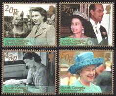 SOUTH GEORGIA 2002 Golden Jubilee: Set Of 4 Stamps UM/MNH - South Georgia