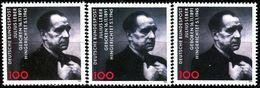 A12-16-8) BRD - 3x Michel 1574 - ** Postfrisch (B) - 100Pf      Julius Leber - BRD