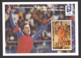 Tanzania, Scott #1032, Mint Never Hinged, Olympics, Issued 1993 - Tanzanie (1964-...)