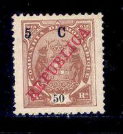 ! ! Mozambique Company - 1916 Elephants 5 C - Af. 98 - MH - Mozambique