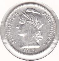 Portugal - 50 Centavos ($50) 1912 Silver - VF - Portugal
