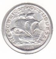 Portugal - 5 Escudos (5$00) 1943 - XF - Portugal