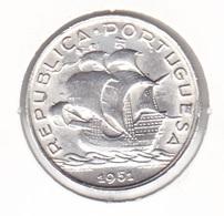 Portugal - 5 Escudos (5$00) 1951 - XF/SUP - Portugal
