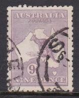 Australia SG 27 1915 Nine Pence  Kangaroo Violet,used - Used Stamps