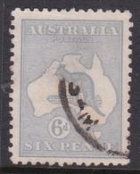 Australia SG 38 1915-20 Kangaroo Six Pence Ultramarine,used, - Used Stamps